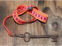 Schlüssel-Butler Schlüsselanhänger orange, Marienkäfer